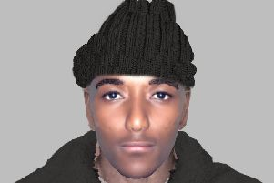 Contact police if you recognise this man. Photo: Northamptonshire Police