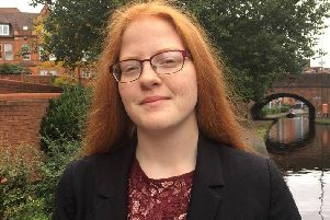 Lauryn Harrington-Carter has become one of the youngest councillors in the country aged just 19