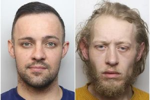 Derry Crowshaw (left) and Callum Gordon. Photos: Northamptonshire Police