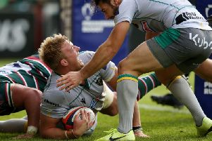 David Ribbans has been one of the stars of the show for Saints so far this season