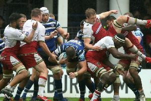 Saints and Bath have battled it out in some scrappy encounters at The Rec in recent years