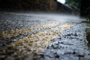 Parts of Northants have been issued with a weather warning for tomorrow (Thursday) as heavy rain looks set to hit the county.