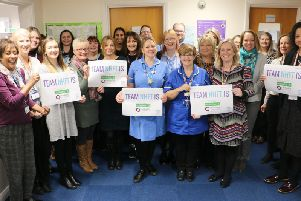 Staff at NHFT are celebrating after receiving their results this week.
