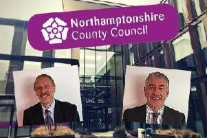 Residents have the chance to tell the commissioners their views on council services.