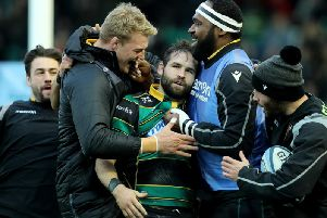 Cobus Reinach has loved his time at Saints so far