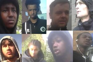 Operation Viper detectives want to speak to these eight individuals as part of investigations into drug dealing