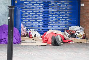 Daventry District Council is receiving growing numbers of homeless people applying for accommodation