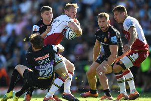 Saints lost at Exeter in the Premiership play-off semi-finals last season