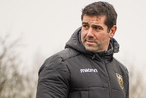 Ian Vass was in attendance at Saints training on Wednesday (pictures: Northampton Saints/Roberto Payne)