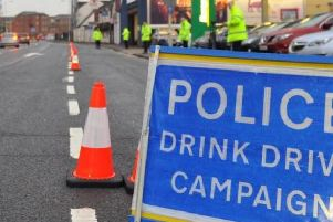 Police charged 84 drivers as part of their winter drink and drug-driving crackdown