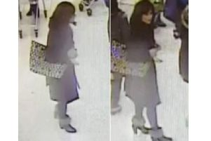Police issued these CCTV pictures of a woman they want to speak to