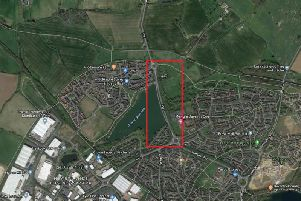 Where the A361 will be closed for two weekends for roadworks. Photo: Google