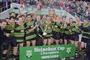Pat Lam lifted the Heineken Cup with Saints in 2000