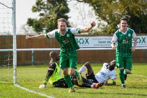 Jack Bowen hit both goals for Daventry Town as they beat St Neots 2-1 on Saturday
