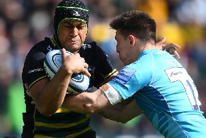 Samson Ma'asi is back in training at Saints