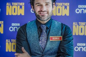 Local tenor George Hutton who will be appearing on the BBC One talent competition 'All Together Now'