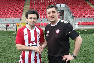 Derry City manager Declan Devine welcomes Barry McNamee back to the club.