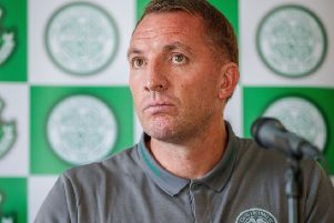 Celtic manager Brendan Rodgers'.