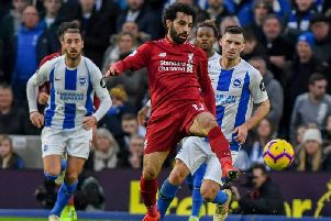 Will Mohamed Salah lead Liverpool to the Premier League title? Picture by PW Sporting Photography