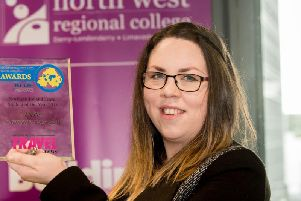 Local Travel and Tourism student Katherine Wilkinson has urged students to attend the upcoming North West Regional College Open Days