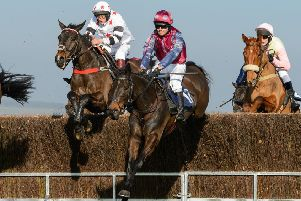 Minella Friend and Belvoir regular George Chatterton rode to their third win of the season in the Restricted. The Cottesmore at Garthorpe, Sunday 24 February PICTURE: Nico Morgan EMN-190227-135835002