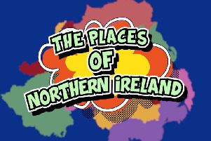 'The Places of Northern Ireland' was written, recorded and performed by N.I. entertainer, Aaron Butler. (Video courtesy of Aaron Butler/Aaron's Videos)