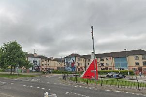Bogside area (Google Earth)