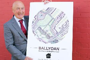 Seamus Gillen, of South Bank Square Ltd the developer behind the proposed �100m investment in the Waterside.