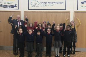Pupils and staff at the academy are pleased with the report's findings
