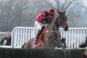 Gina Andrews, seen here on Crosspark at Warwick, will be in action at Mollington on Saturday
