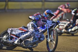 Aaron Summers rides for Panthers in Wolverhampton.