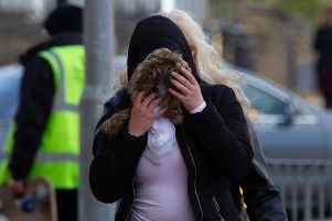 Martyna Ogonowska (18) Arrives at court.  Picture by Terry Harris. THA