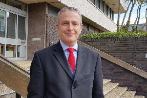 Detective Chief Inspector Andy Richardson oversees the Surrey and Sussex Cyber Crime Unit