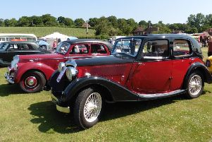 Some of the many four wheeled beauties at last year's Senlac Classic Car Show SUS-181206-151839001