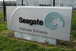 Seagate currently employs 1,400 people right across the North.