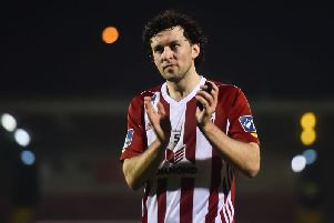 Derry City skipper, Barry McNamee fired the home side into a ninth minute lead.