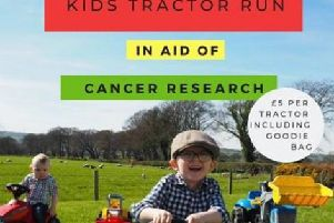The children's tractor run and fun day takes place on Sunday.