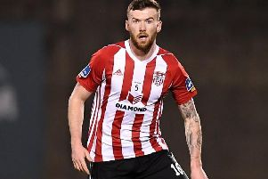 Derry City's Patrick McClean misses the trip to Sligo Showgrounds because of thigh problem.