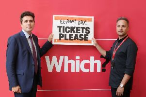 Huw Merriman (left) said he obtained signatures from almost 100 MPs to support his call SUS-190523-135927001