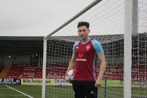Derry City defender, Conor McDermott has joined Cliftonville on loan