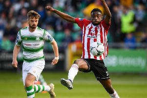 Goal hero, Junior rescued a point for Derry City