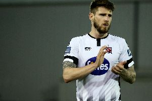 Dundalk defender Stephen Folan.
