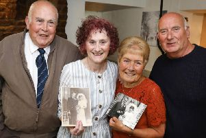 L-r David and Ann Stewart with Christine and David Cumberpatch.
