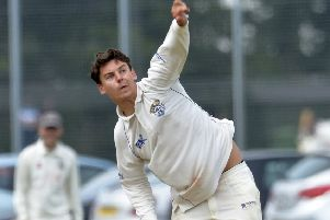 Eddie Lemmon took four wickets in Bexhill's victory against Rottingdean. Picture by Jon Rigby