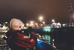 Foyle Search and Rescue were made aware of the body by the P.S.N.I.
