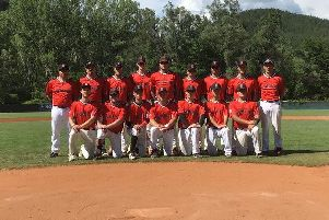 The Hemel Hempstead-based Herts Falcons side during their Federations Cup trip to Bulgaria last week.