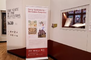 Some of the new additions to the exhibition at the Guildhall.