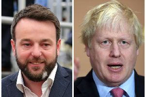Boris Johnson, favourite to become the next British Primie Minister, claimed technical fixes could prevent a hard border. Colum Eastwood however has challenged his assertions.
