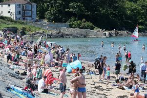 This is a photo of Helen's Bay on June 3, 2018. (Photo: Presseye)