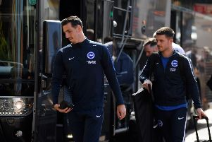 Is Lewis Dunk closer to a Brighton departure? Getty